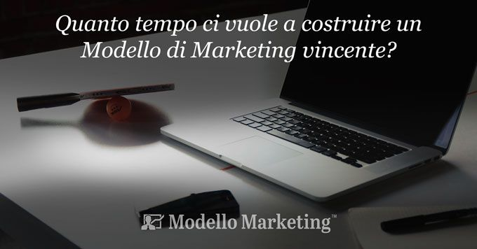 Tempo realizzazione Modello di Marketing - Stefano Cattelani