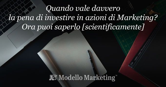 Investire nel marketing - ModelloMarketing