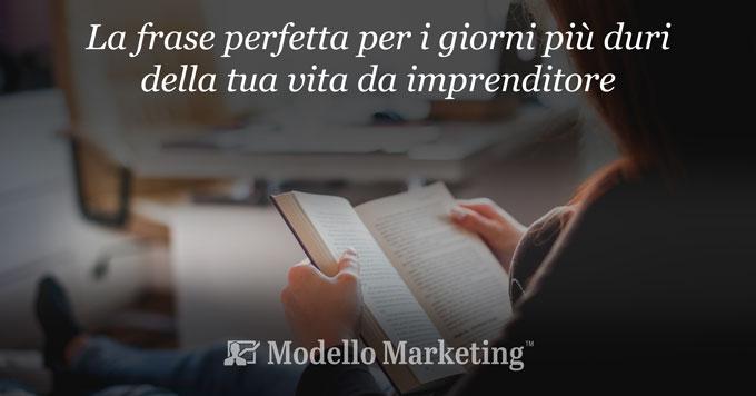 La citazione perfetta | ModelloMarketing