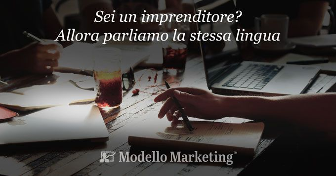 Modelli di Marketing per imprenditori e manager