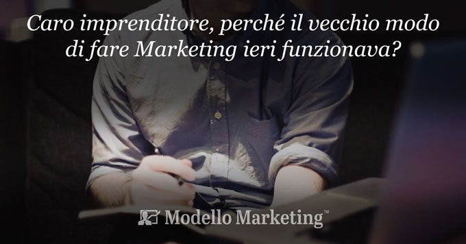 Marketing tradizionale e Modelli di Marketing online