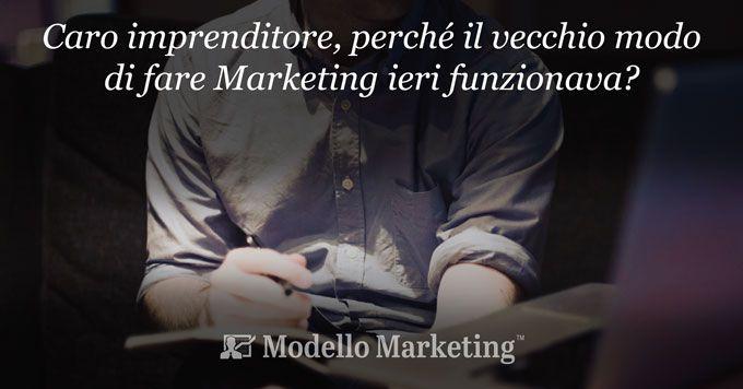 Marketing tradizionale e Modelli di Marketing online