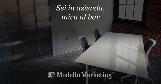 Modelli di Marketing aziendali - Stefano Cattelani